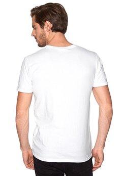 Tailored & Original Methil T-shirt 0001 White Bubbleroom.se