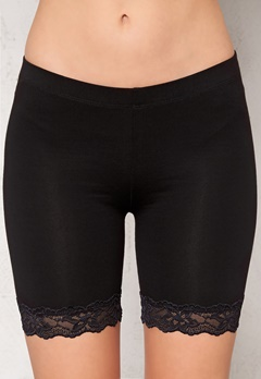 77thFLEA Juli short lace leggings Black Bubbleroom.se