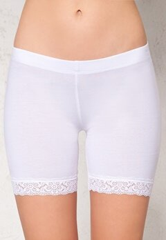 77thFLEA n.e.e.d.s Juli short lace leggings White Bubbleroom.se