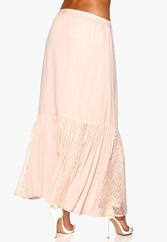 VILA Nicole Maxi Skirt Peach Blush Bubbleroom.se