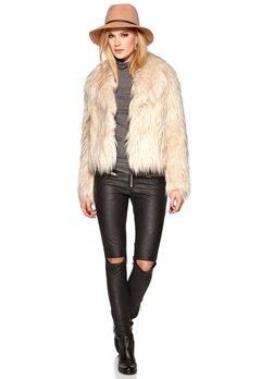 ROCKANDBLUE Mistal Fake Fur Jacket 0802 Off White Bubbleroom.se