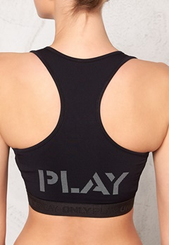 ONLY PLAY Lola Training Bra Black Bubbleroom.se