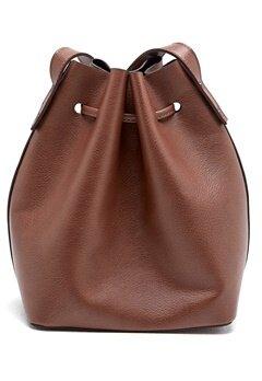 Pieces Samesa Tighten Bag Cognac Bubbleroom.se