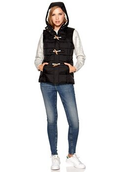Sally & Circle Price Nilla vest Black Bubbleroom.se