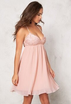 77thFLEA Le Mans dress Peachy Pink Bubbleroom.se