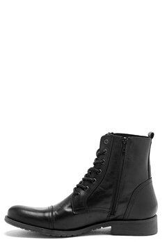 SELECTED HOMME Taylor Leather Boots Black Bubbleroom.se