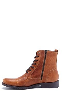 SELECTED HOMME Taylor Leather Boots Tan Bubbleroom.se