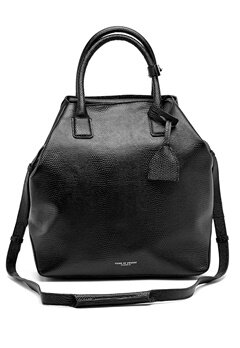 TIGER OF SWEDEN Generoso Leather Bag 050 Black Bubbleroom.se