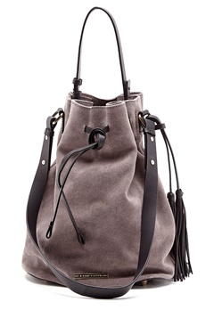 Day Birger et Mikkelsen Day Suede Doppio Bag Ghost Gray Bubbleroom.se