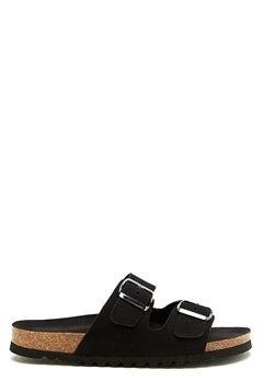 VERO MODA Julia leather sandal Black Bubbleroom.se