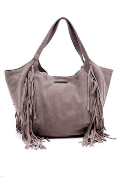 Day Birger et Mikkelsen Day Soft Fringes Hobo Bag Ghost Gray Bubbleroom.se