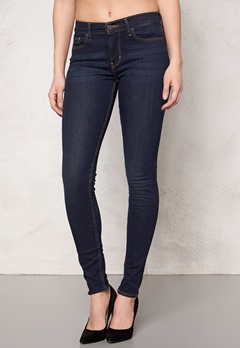 LEVI'S Super Skinny Jeans Denim Deepend 0007 Bubbleroom.se