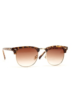 77thFLEA Mat sunglasses Turtle/Gold Bubbleroom.se