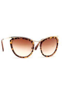 77thFLEA Qat sunglasses Brown turtle Bubbleroom.se