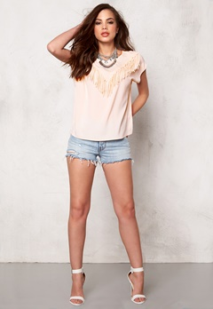 OBJECT Dawn S/S Top Pink Champagne Bubbleroom.se
