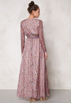 DRY LAKE Boho Long Print Dress Feather Love Bubbleroom.se