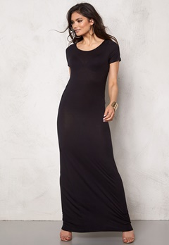 ONLY Waterfall Dress Black Bubbleroom.se