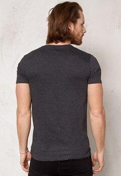 Solid Araby T-shirt 8288 Dark Grey Bubbleroom.se