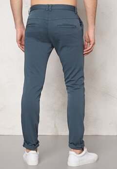 TIGER OF SWEDEN Transit Pants 06C Ocean Grey Bubbleroom.se