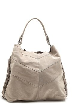 Pieces Bea Suede Bag Moonbeam Bubbleroom.se