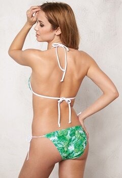 Pieces Tahiti Triangle Bra Bright White Bubbleroom.se