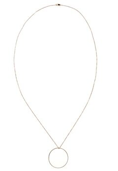 Pieces Belinda Necklace Gold Colour Bubbleroom.se