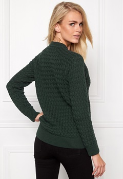 Make Way Lovis Sweater Dark green Bubbleroom.se