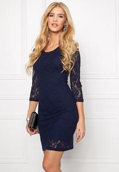 VERO MODA Lilly Lace Short Dress Navy Blazer Bubbleroom.se