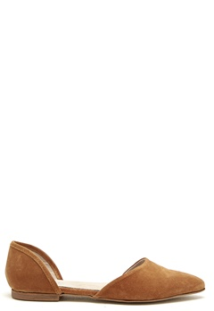 Pavement Cleo Leather Shoes Tan Suede Bubbleroom.se