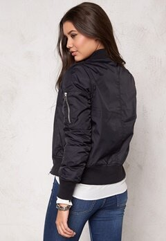 Rut & Circle New Kate Bomber Jacket Black/Silver Bubbleroom.se