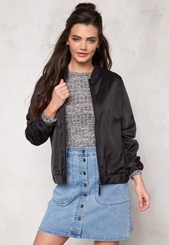 Rut & Circle Lin Bomber Jacket Black/Black Bubbleroom.se