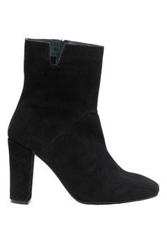 VERO MODA Siwie Leather Boot Black Bubbleroom.se