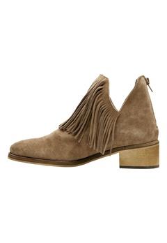 VERO MODA Laure Leather Boot Cognac Bubbleroom.se