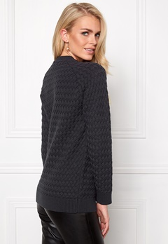 Make Way Lovis Sweater Dark grey Bubbleroom.se