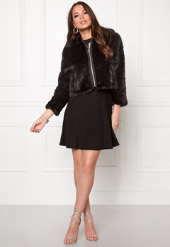 CHEAP MONDAY Pace Fur Jacket Black Bubbleroom.se