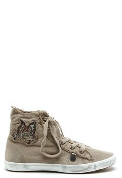 Odd Molly Butterfly high sneakers Porcelain Bubbleroom.se
