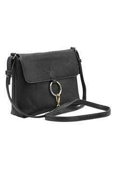 Pieces Puk cross body bag Black Bubbleroom.se