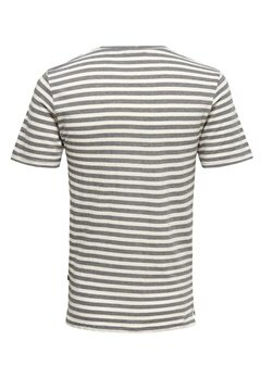 ONLY & SONS Allan fitted tee Cloud dancer Bubbleroom.se