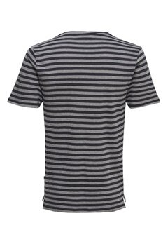 ONLY & SONS Allan fitted tee Dark navy Bubbleroom.se