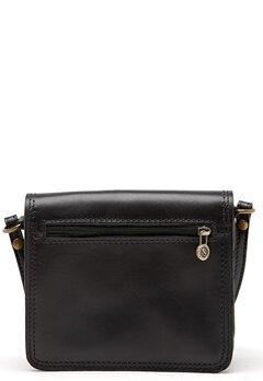 Mixed from Italy Leather Saddle Bag Black Bubbleroom.se