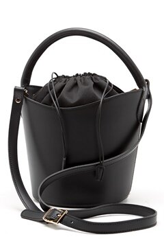 Mixed from Italy Leather Bucket Bag Black Bubbleroom.se