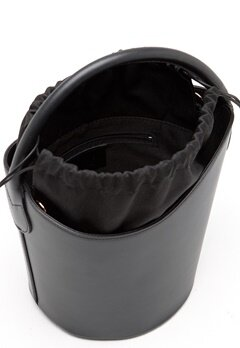 Mixed from Italy Leather Bucket Bag Black Bubbleroom.fi
