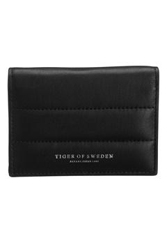 TIGER OF SWEDEN Millet Leather Wallet 050 Black Bubbleroom.se
