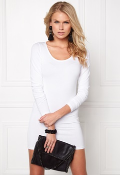 VILA Officiel New Long l/s Top Optical Snow Bubbleroom.fi