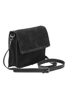 Pieces Peloa Suede Cross Bag Black Bubbleroom.se