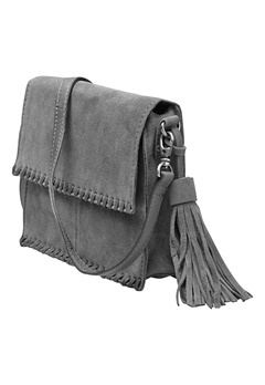 Pieces Peloa Suede Cross Bag Castlerock Bubbleroom.se