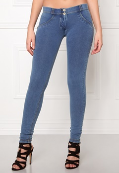FREDDY Skinny Shaping lw Jegging J4Y Denim Bubbleroom.se