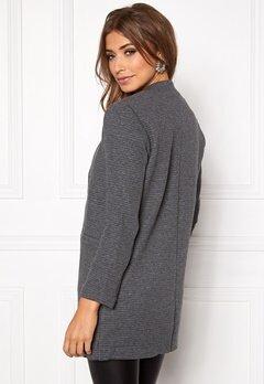 ONLY Mya Soft Blazer Jacket Dark Grey Melange Bubbleroom.se