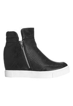Steve Madden Wedge Sneaker Black Bubbleroom.se