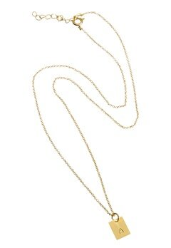 Erbs Denmark Personal Story Necklace Gold Bubbleroom.se